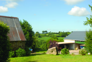 house and views in normandy