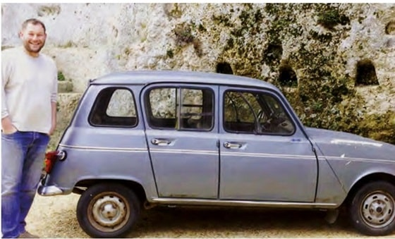Small car for the quiet country lanes