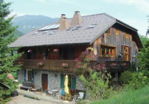 Savoyard Farmhouse in the French Alps