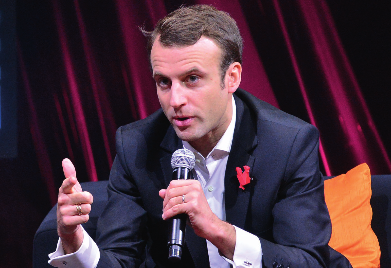 Emmanuel Macron as France's new President