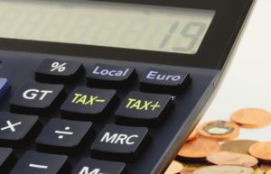 Calculator as a representation of finance