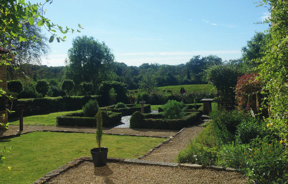 garden in the Limousin