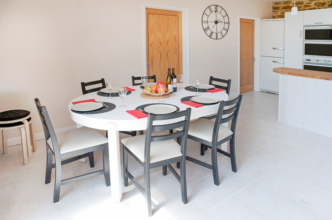 Fully furnished kitchen in Le grange, brittany