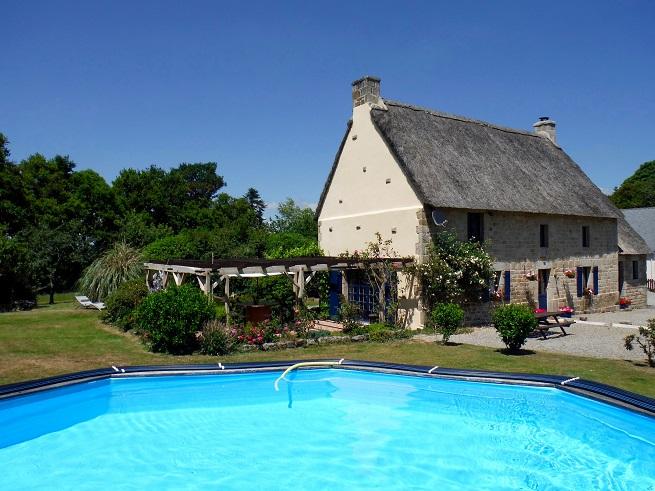 Le Deran cottage in Morbihan, Brittany