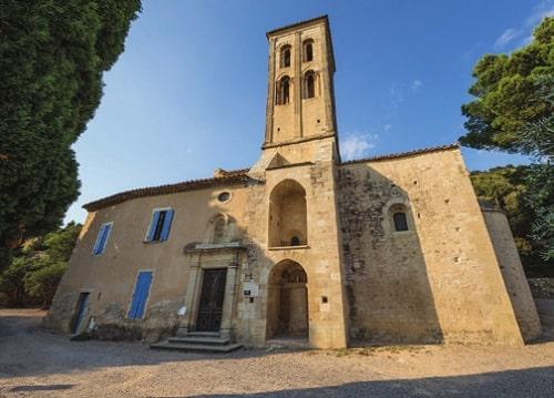 The Chapelle de Notre-Dame d'Aubune in Beaumes de Venise
