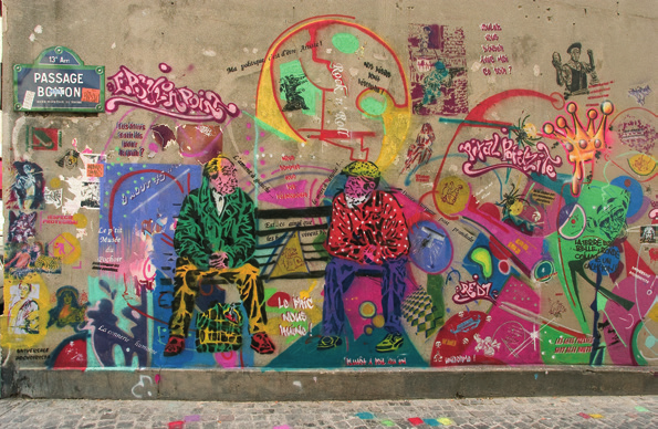Street art on the walls