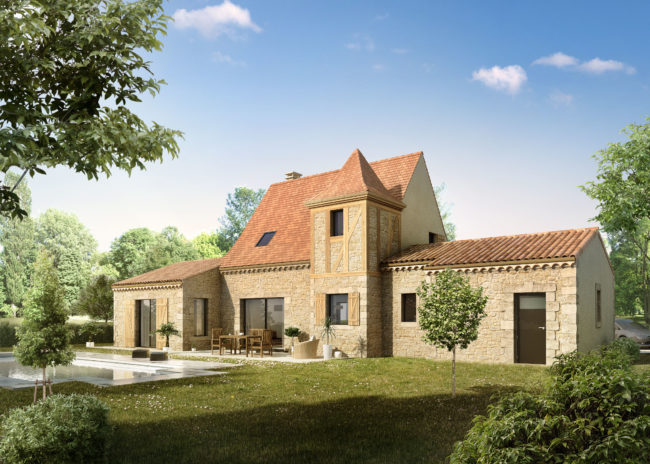 new build property in France