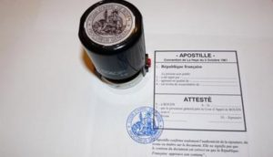 An Apostille is a certificate that makes 'local' documents valid for international use.