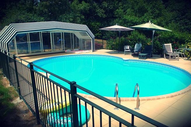 La Coterie Lodge swimming pool