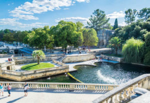 The Roman city of Nîmes is among the cheapest to buy in France