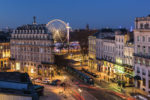 City of lights in Bordeaux