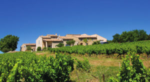 Domaine l'Ancienne École, a former school that has been reincarnated as a vineyard