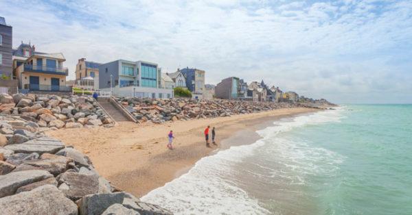 Manche coastline