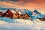 Ski chalet in France