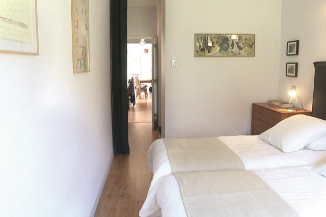 Les Mazures bedroom