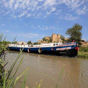 luxury hotel-barge Alegria