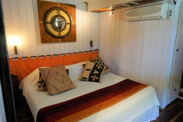 Double bedroom on the luxury Alegria