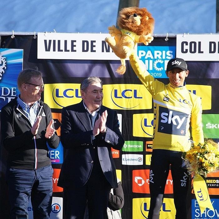 Egan Bernal wins the Tour de France 2019