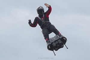 FlyBoard by Franky Zapata, June 9, 2019. Taken by Cédric DURETZ. Image © CC BY-NC-ND 2.0