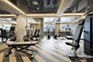 gym at Residence Manaka