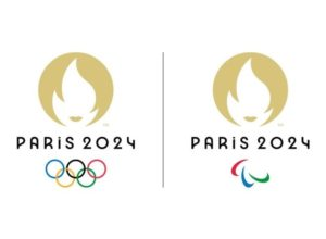 french news paris olympics logo 2024