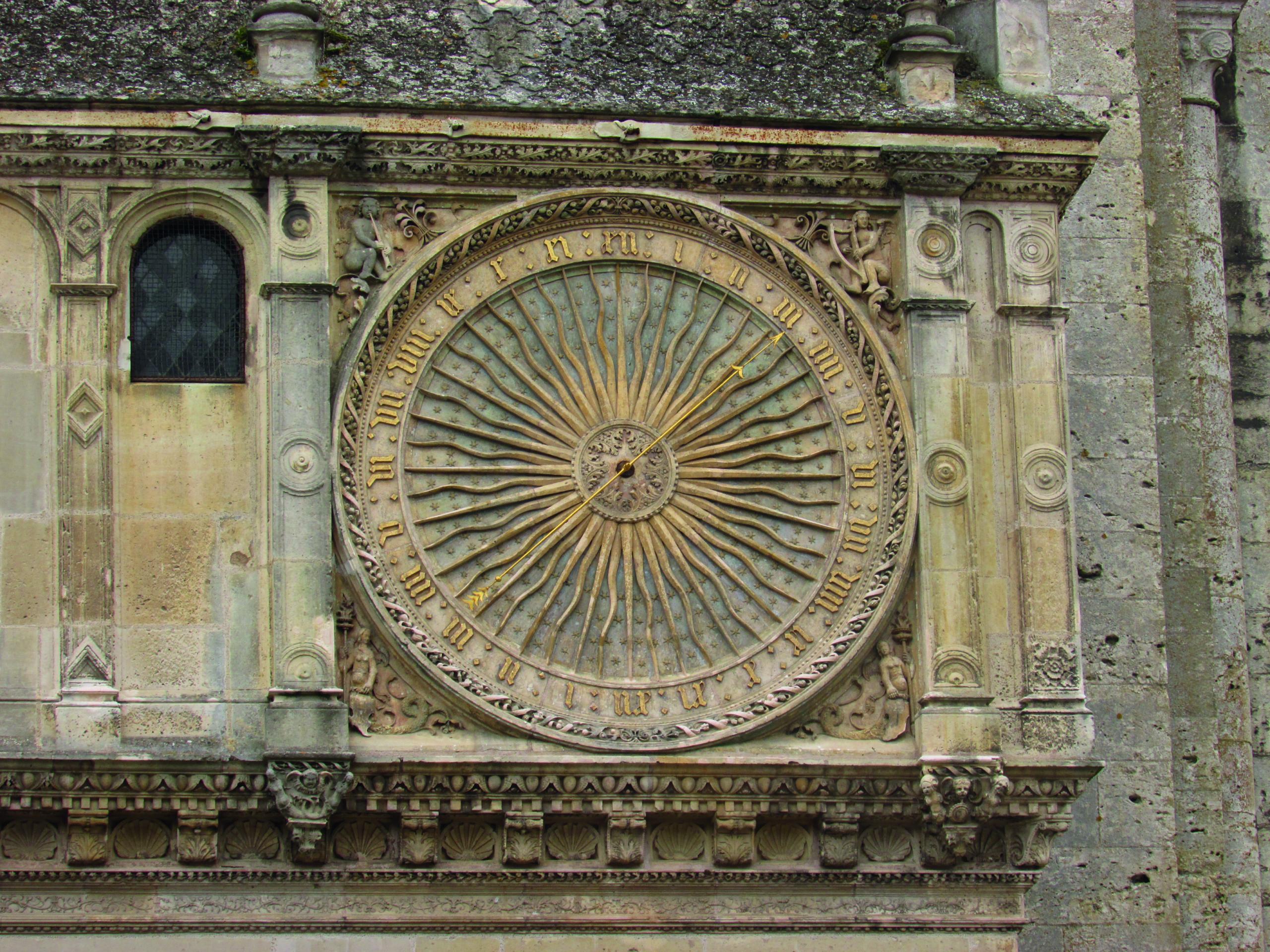 single hand renaissance clock