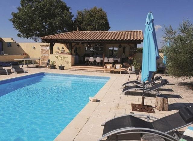 Tarn property swimming pool