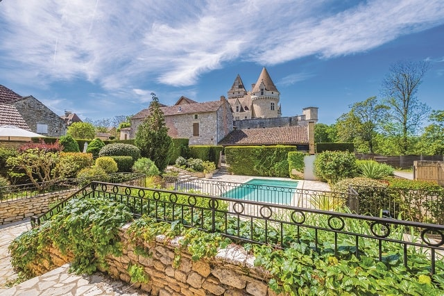 Château garden