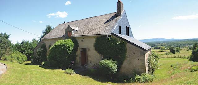 Morvan farmhouse in France