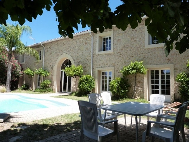 Restored formery winery with 8 bedrooms, 5 bathrooms