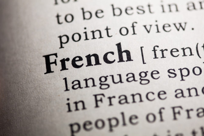Getting to grips with the French language