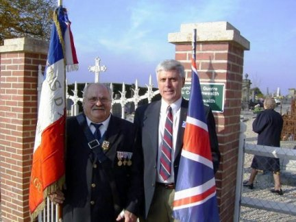 Remembrance Day in Normandy