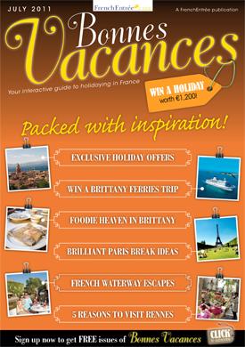 Bonnes Vacances July Edition out Soon!
