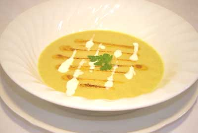 Delicious soup from the Loire