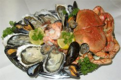 Normandy seafood platter