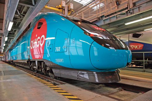 New low-cost TGV (high-speed train) in France