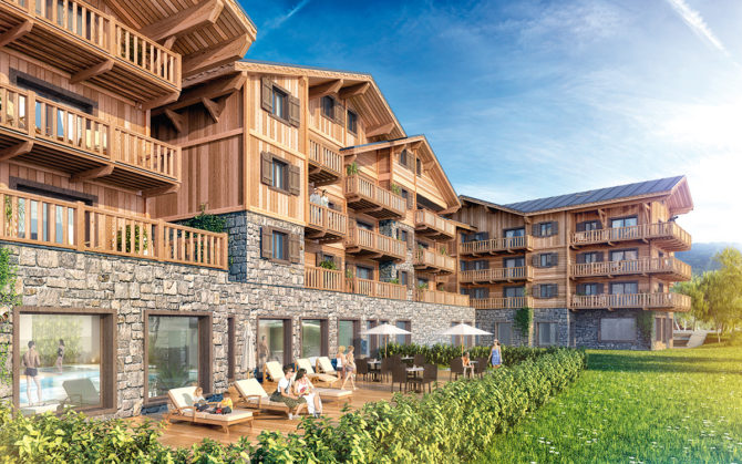 French Alps property buyers get on their bikes and stay for the summer