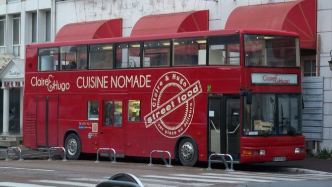 Is nothing sacred!? Foodtrucks are loving it in France