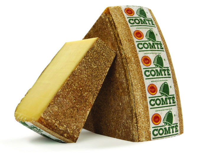 Tried and tested: Comté cheese