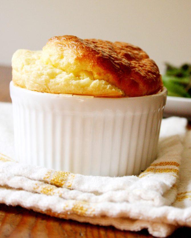 Summer recipe: classic Comté cheese soufflé