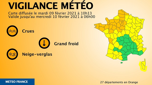 News Digest: Severe Weather to Hit Northern France