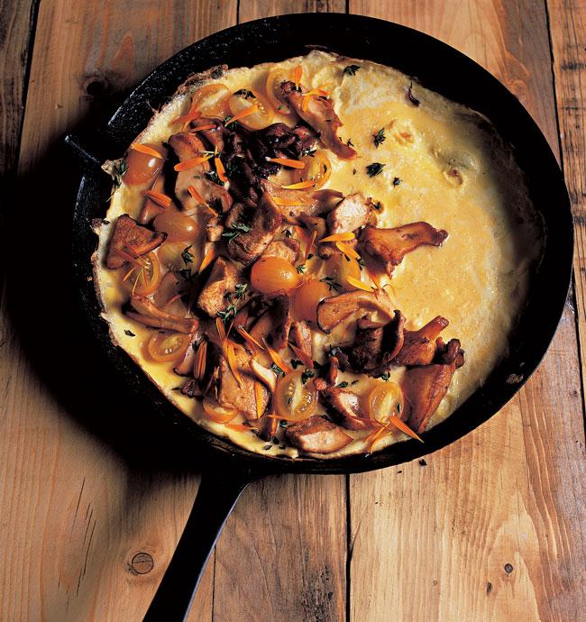 Trish's omelette