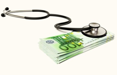 Additional costs not covered by an EHIC health card or Carte Vitale