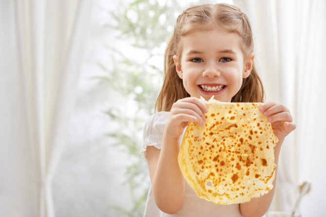 An easy recipe for thin and delicious French crêpes