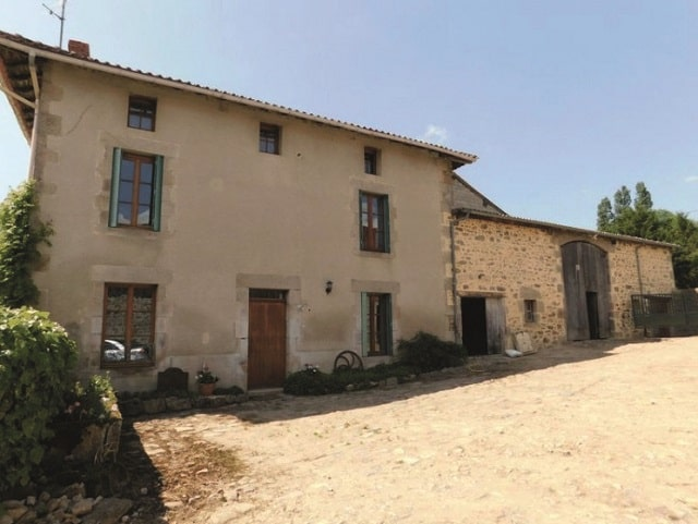 What are the main property types in Limousin?