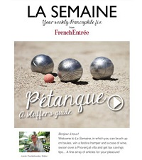 Your weekly Francophile fix!