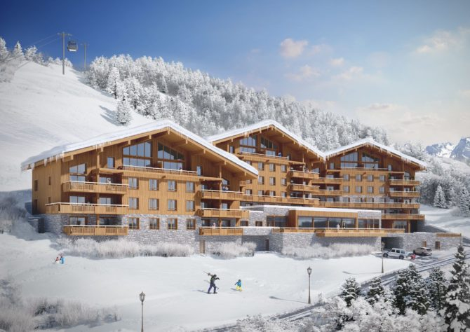 Own a Luxury Apartment in the French Alps