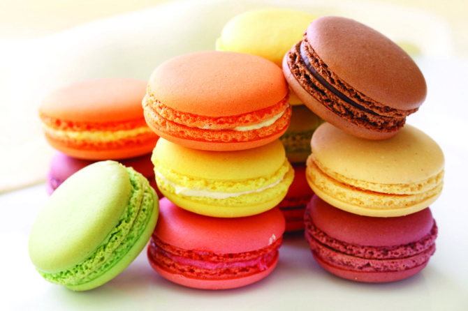 Fabulous French macarons: origins and flavours