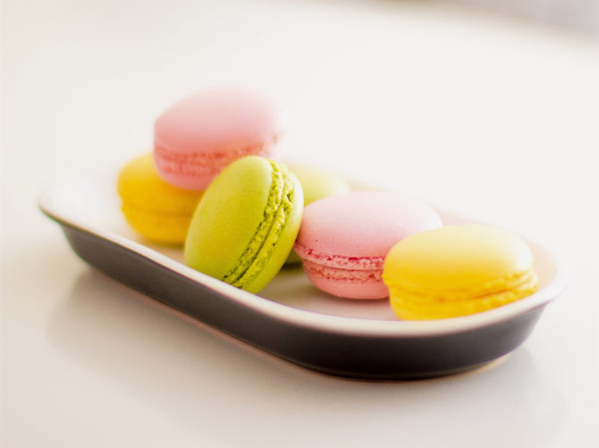 Macaron recipe: winner of the competition