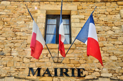 When can the Mairie block a sale of property in France?